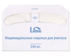 Одноразовые покрытия (сиденья на унитаз) Lime